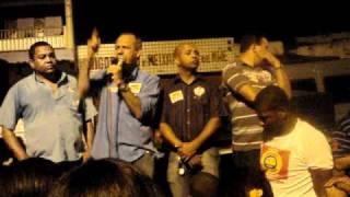 VEREADOR AILTON MO, DEPUTADO CARLOS GEILSON, CORREIA,,, NA RUA NOVA 2010. I