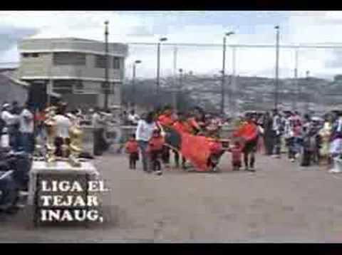 LIGA BARRIAL EL TEJAR DE QUITO ECUADOR