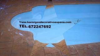 HORMIGON IMPRESO SANTA ROSALLA 672247692 MURCIA