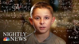 Inside The Mind Of Jaxon Cota An 11-Year-Old Kid Genius   NBC Nightly News width=