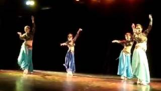 Céu de Oasis - Ayuny na Mostra de Dança Mistérios do Oriente