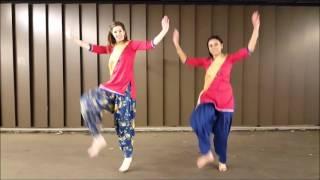 BHANGRA GIRLS   Teri Wait - Kaur B   Bhangra by Christine & Sabine