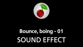 🎧 Bounce, boing - 01, SOUND EFFECT