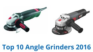 10 Best Angle Grinders 2016