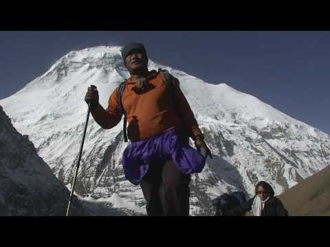 nepal, André BERNARD, tour des dhaulagiri