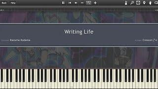 【遊☆戯☆王VRAINS (Yu-Gi-Oh! VRAINS)】 Writing Life「Piano (Synthesia)」