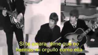 The Beatles - If I Fell - Subtitulado en Español
