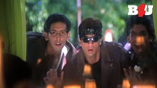 Shahrukh Khan Puts Cockroach On Mr. Savio's Plate   Funny Secen    Aishwarya Rai, Shahrukh Khan width=