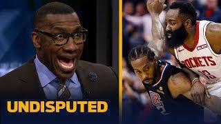 Kawhi Leonard should've taken it upon himself to lock down James Harden — Shannon   NBA   UNDISPUTED