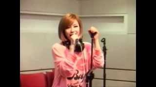 120918 시크릿 Secret Poison live Younha Starry Night Radio (with BAP watching)