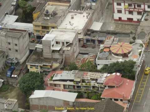 2012 Ecuador   Banos, Vu du Ciel, Cafe del Cielo, Cafe in The Sky, Baños