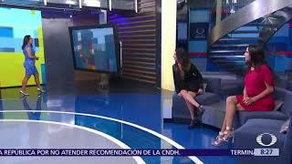 Raquel Mendez Clima Al Aire 13 De Abril 2018