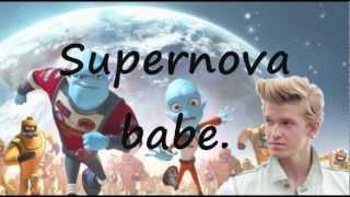 Shine Supernova - Cody Simpson (Lyrics Video) (Escape from Planet Earth theme song)