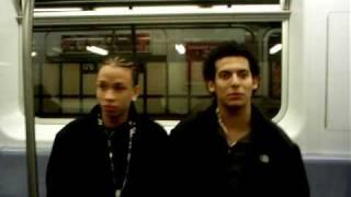 donicasico en el tren(new york)
