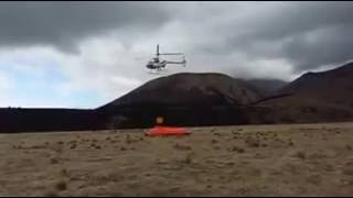 Guimbal Cabri G2 Helicopter using a 180 L HELiFIRE Monsoon Bucket 2 22 Sep 2016