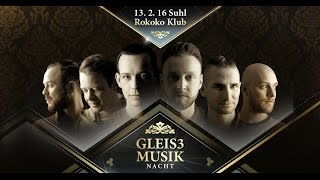 Gleis3-Musik Nacht 2.0 - Trailer  13.02.2016