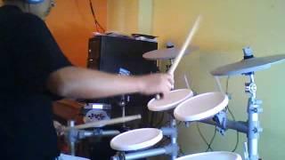 GIT  Estoy loco maly drum cover