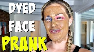 HENNA IN MAKEUP PRANK ON WIFE