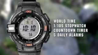 CASIO PROTREK PRG-270 product video