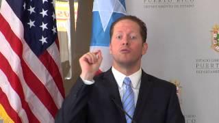 Reinauguracion de oficina en Ponce del Departamento de Estado de Puerto Rico