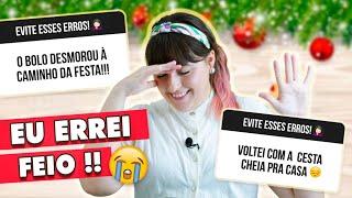 5 ERROS que cometi sendo CONFEITEIRA (NÃO FAÇA ISSO!) | Tábata Romero
