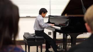 2014 04 27 Christopher Cung,Tarantella by Albert Piczonka. Contemporary Music Festival