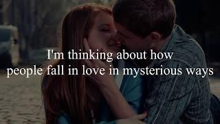 Ed Sheeran - Thinking Out Loud (Bri Breat Cover) Lyrics