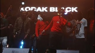 "Kodak Black Brings Out NBA YoungBoy Performs ""Water"" In Miami"