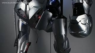 wear Iron Man Mark 47 46 armor costume suit top half sound effect