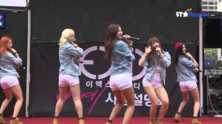 [S영상] EXID(이엑스아이디) '아예(AH YEAH)' 첫 무대