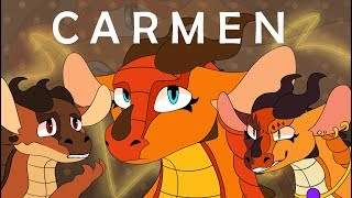 Carmen- Wings of Fire Peril Meme