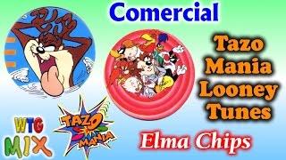Comerciais Tazo Looney Tunes / Turma do Pernalonga - 1997 Promoção Elma Chips   #nostalgia