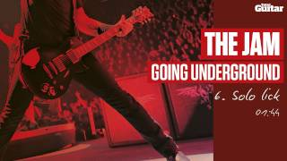 Guitar Lesson: The Jam 'Going Underground' -- Part Six -- Solo Lick (TG217)