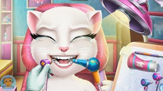 Angela Real Dentist - games videos for kids - 4jvideo