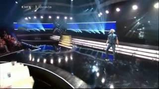 "X Factor 2010 Denmark - Daniel synger Erik Hassle ""Hurtful"" - LIVE SHOW 1 [HQ]"