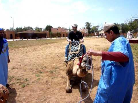 AGADIR, MOROCCO – JAMES' CAMEL RIDE – 1 of 3