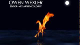 Fire On The Water (After Effects)