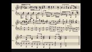 Canon in D minor piano version