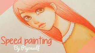 Speed painting 3/ Painting process 3/ By Piyoasdf