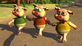 Os Três Porquinhos - A Fazenda do Zenão 1 | O Reino das Crianças