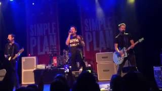 Simple Plan  Singing In The Rain Live In Cleveland