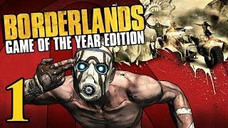 Borderlands (Xbox 360) - 1080p60 HD Walkthrough Part 1 - Fyrestone