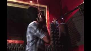 Perfect giddimani live in studio  voicing Mighty ducks dub  rasta rebel  mad