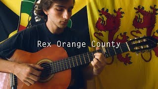 Rex Orange County - Sunflower - Short Fingerstyle Guitar Cover