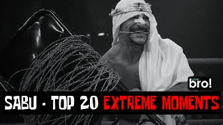 WWE Sabu top 20 extreme moments