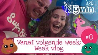 Weekvlog 0: Kinder-DJ Blijwin en Lotte Lollig aan't werk. Aankondiging =D
