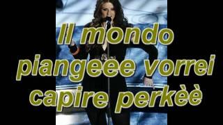 Irene Fornaciari feat Nomadi - Il mondo piange  + testo