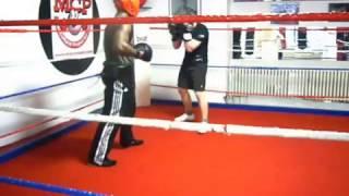 sparring Jerry Vs Luu