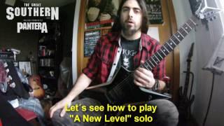 "PanterA - ""A New level"" lesson - Live solo version (eng sub)"