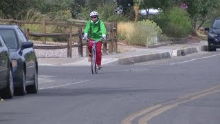 Cars parking on bike lane causes confusion in Albuquerque